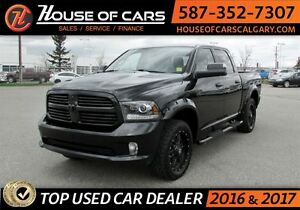 2016 Ram 1500 Sport w/ 2 Level Kit / Back Up Cam / Navigation /