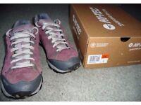 Ladies HI-TECH Waterproof Hiking Walking Shoes Size 8
