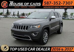 2016 Jeep Grand Cherokee Limited / Leather Seats /  Sunroof / Bl