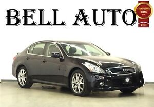 2013 Infiniti G37X LUXURY S AWD NAVIGATION LEATHER SUNROOF