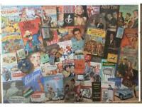 """Framed Jigsaw """"TV Comics"""""""