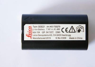 Leica Geb221 Lithium-ion Battery 7.4v4.4ah Rechargeable
