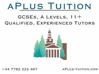 Tuition: GCSEs including new spec 9-1, A Level, 11+, Maths, English, Sciences. Qualified teachers.