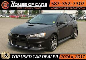 2015 Mitsubishi LANCER EVOLUTION GSR / AWD /Recaro seats / Bluet