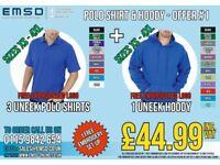 Uneek Workwear - Polo Shirt & Hoody offer - Offer 1