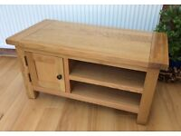 Bespoke, Solid Oak TV Unit, New & Unused.