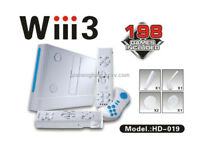 """Wiii3"" WiWi Generic Home Entertainment System Family Video Games Console - Boxed"