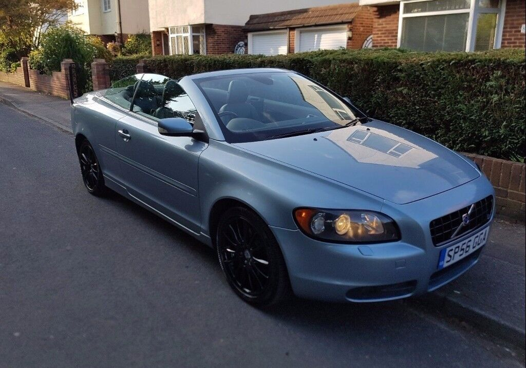 Volvo C70 D5 Diesel Sports Convertible Auto Automatic Diesel Summer And  Winter Car