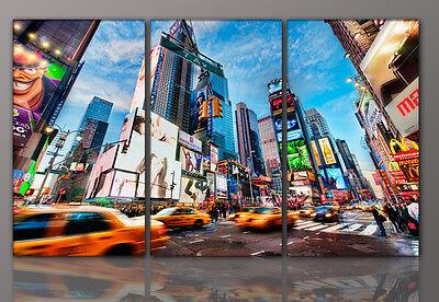 DESIGNBILDER- WANDBILD City New York abstrakt Wohnzimmer Kunst  - 160x90cm