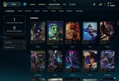 League of legends account smurf | NA| Unverified Email | 27 Champions