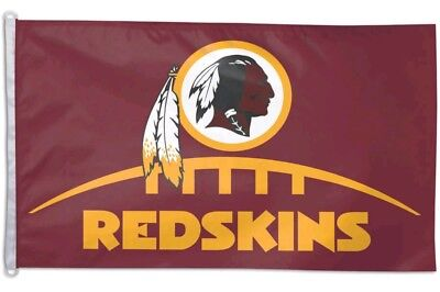 Washington Redskins Flag Official NFL Football 3x5 Foot Maroon Gold WinCraft