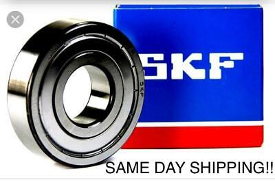 Skf 6202-2z 6202-zz Radial Ball Bearing 15x35x11 Same Day Shipping