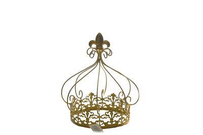 Metal Crown Baby Shower, Quinceaneras, Wedding Centerpieces Decoration - Gold
