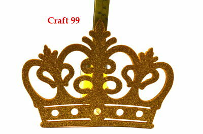 Foam Glitter Crown Party Favors Recuerdos Princess/Prince Crowns Corona