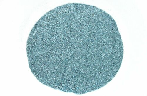 One Ounce NATURAL NO DYE Sonoran Blue Azurite Turquoise Inlay Powder 2mm & Less