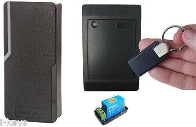 Zutrittskontrolle, Außen und Innengerät Set  ! RFID von I-KEYS, (W2-Set4)