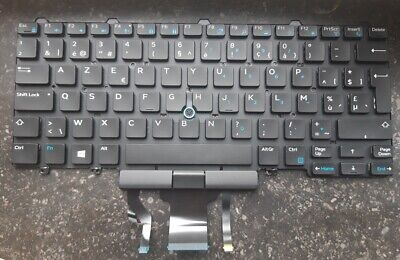 Dell Latitude E5450 5470 5480 7450 7480 Backlit Keyboard BE AZERTY French 0RPTG6