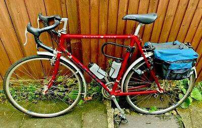 COLLECTORS Vintage Dawes Galaxy Touring Bike Metallic Red Reynolds 531 Pristine