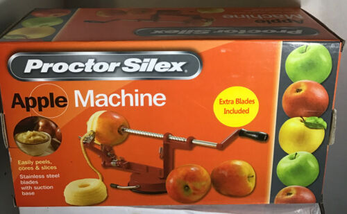 apple machine peeler corer slicer suction base