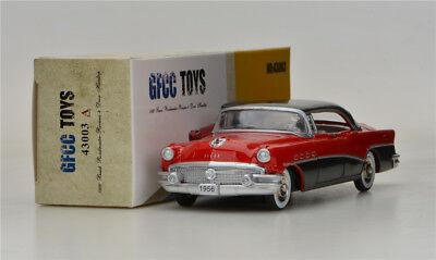 Red GFCC TOYS 1:43 1956 Buick Roadmaster- Riviera- 4 Door Hardtop  Alloy car