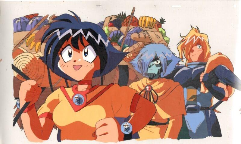 Anime Cel Slayers #256