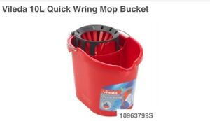 Vileda quick wrong mop bucket new