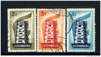 LUXEMBOURG - 1956 Europa Set Used as Scan