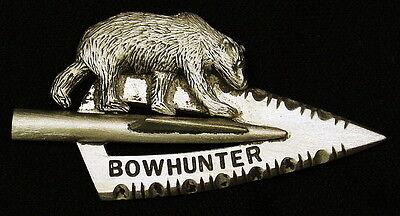 Empire Pewter Broadhead w/ Bear Archery Pin