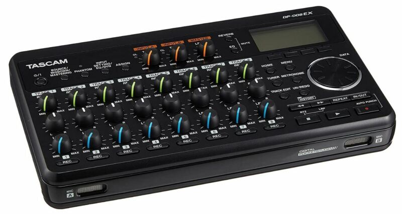 TASCAM DP-008EX Multi-track Recorder by DIGITAL POCKETSTUDIO Tracking Number NEW
