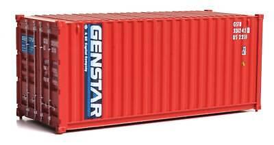 H0 Container 20 Fuß Genstar -- 8072 NEU