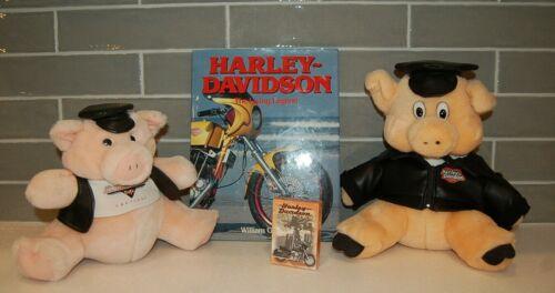 LOT OF 4 HARLEY DAVIDSON MOTORCYCLE MEMORABILIA ITEMS