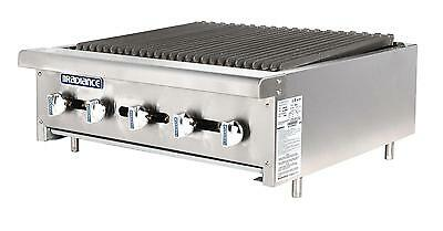 Radiance Tarb-36 36 Counter Top Radiant Gas Commercial Broiler 90000 Btu
