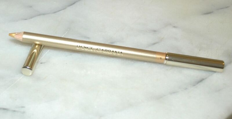 Dolce & Gabbana The Eyeliner Crayon Intense Eyeliner Pencil Full Size New Boxed