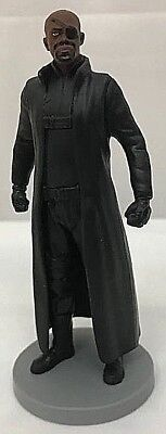 Disney Store Avengers NICK FURY FIGURINE Cake TOPPER Marvel Toy NEW