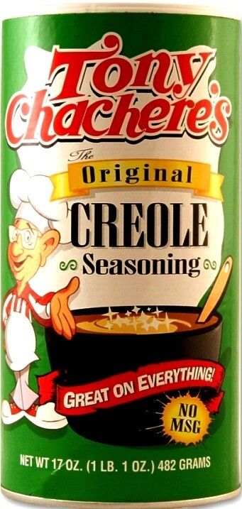 Tony Chachere's 'Original' Creole Seasoning Gewürz 482 Gr Original Aus Usa