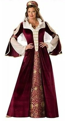 Womens In Character Elegant Empress Adult Halloween Costume  Sz Medium Medieval - Womens Character Costumes