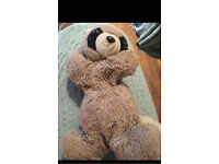 Missing teddy last seen in Roundhay park in Leeds. Reward if found