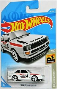 Hot Wheels 1/64 '84 Audi Sport Quattro Diecast Car