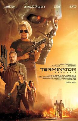 "Terminator: Dark Fate ( 11"" x 17"" ) Movie Collector's Poster Print (T2)"