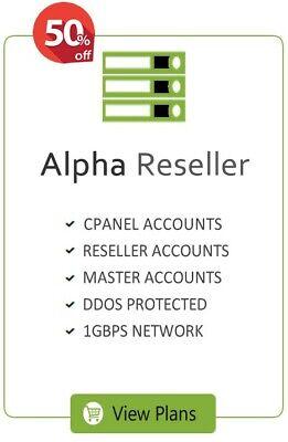 Unlimited Alpha Reseller Hosting