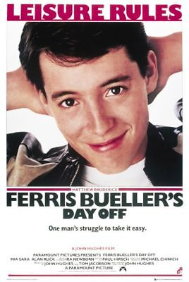 FERRIS BUELLER'S DAY OFF - CLASSIC MOVIE POSTER 24x36 - 49415