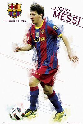 Poster FC BARCELONA - Lionel Messi  2010/11 ca60x90cm NEU 57337