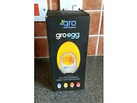 Gro-Egg digital room thermometer.