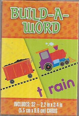 Build a word educational card game New 32 cards 2014 - Build A Word