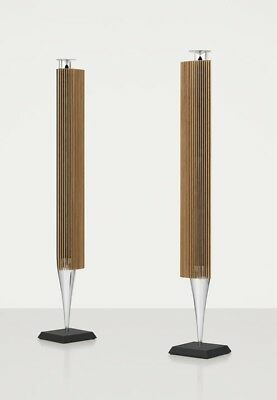 Bang & Olufsen B&O BeoLab 18 with Oak finish Lamella Speakers New pair