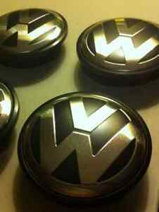 VW Volkswagen Center Wheels Caps & Grill Emblem - 65 / 55mm Kitchener / Waterloo Kitchener Area image 4