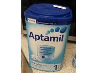 Aptamil formula milk