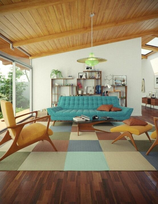 RETRO ATOMIC MID CENTURY LOUNGE