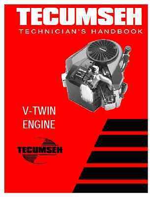 Tecumseh TVT 691 Small Engine Technicians Manual (B137)