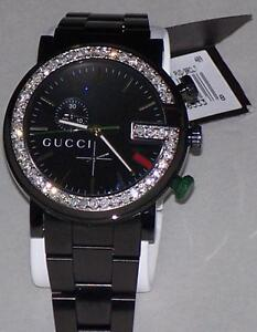 New Men's 101m Gucci chrono 1.92ct.aprx